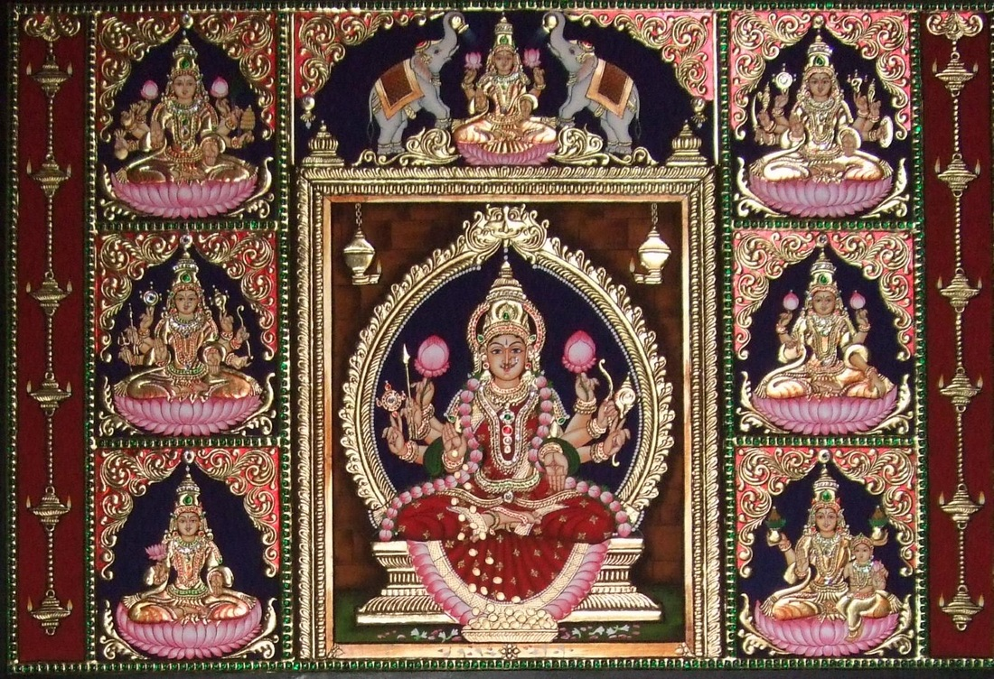More Tanjore Paintings Golden Streak Adorn Your Life